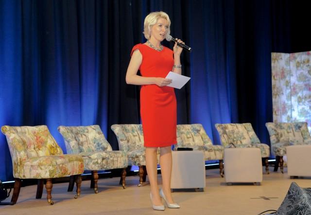 Uroczystość poprowadziła Renata Brukiewicz, trener biznesu.